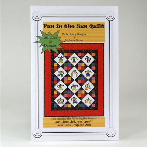 Fun in the Sun Quilt Design CD by Sew Precious