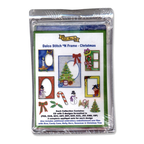 Stitch 'N Frame Christmas Collection by Dalco
