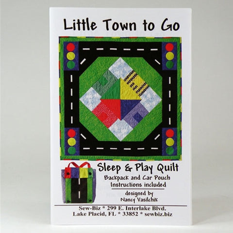 A Little Town To Go by Sew Biz