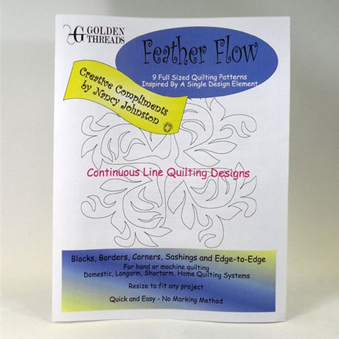 Feather Flow Pantograph Packet By Golden Threads