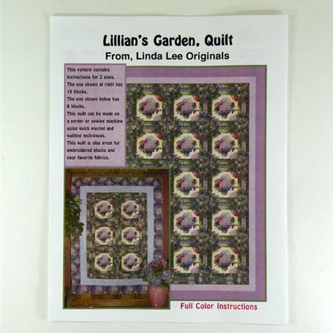 Lillian's Garden Quilt by Linda Lee Originals