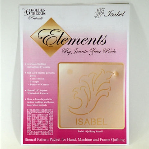 Isabel Element, Golden Threads Stencil Pack