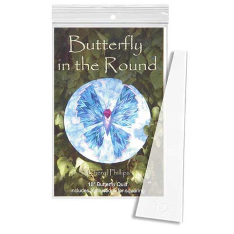 Butterfly in the Round by Phillips Fiber Art