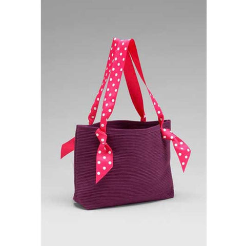 Ribbon Bag in Eggplant by Sudberry House