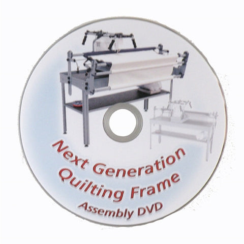 Next Generation Quilt Frame Assembly DVD