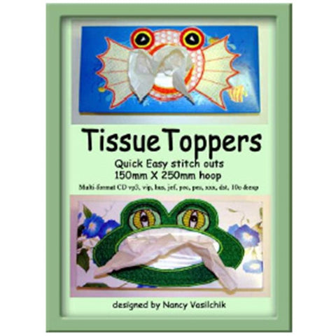 Tissue Toppers Design CD by Sew Biz