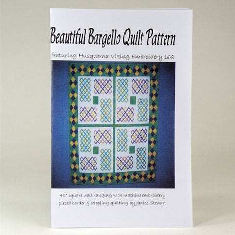Beautiful Bargello Quilt by Janice Stewart