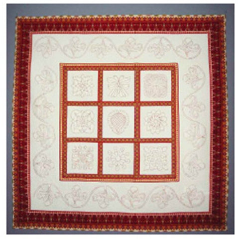 Traditional Blocks & Borders Sampler Quilt by J Stewar