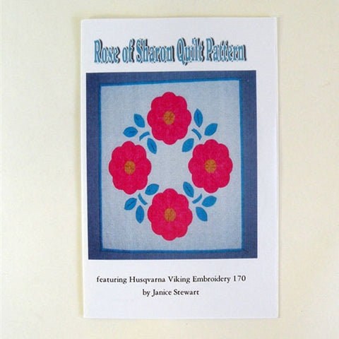 Rose of Sharon Quilt by Janice Stewart