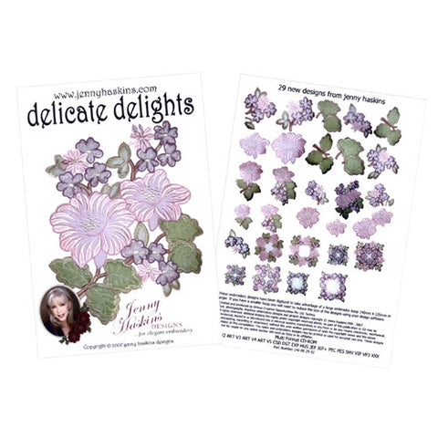 Delicate Delights Design CD by Jenny Haskins