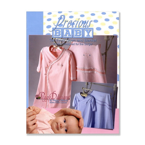 Precious Baby Tab Front Gown & Blanket by Peggy Dilbon