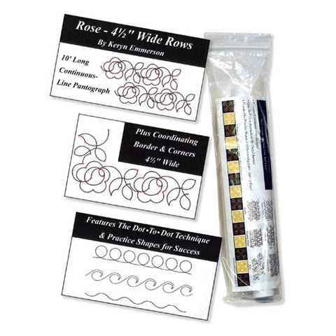 Rose Dot-To-Dot Pantograph, Golden Threads
