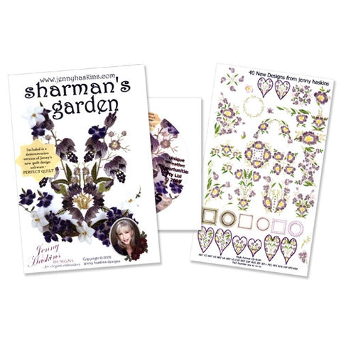 Sharman's Garden Design CD by Jenny Haskins