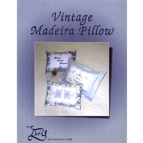 Vintage Madeira Pillow by Deb Yedziniak