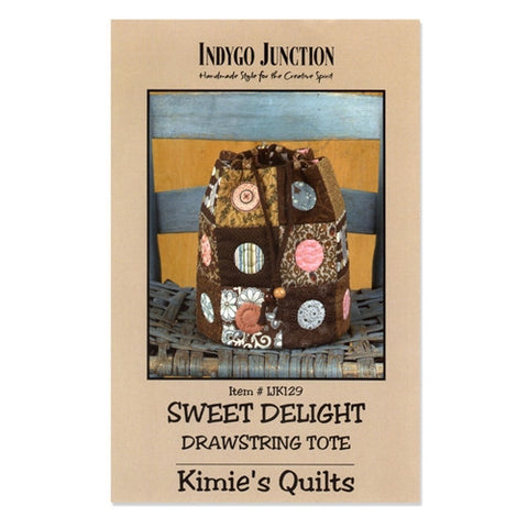 Sweet Delight Drawstring Tote by Indygo Junction