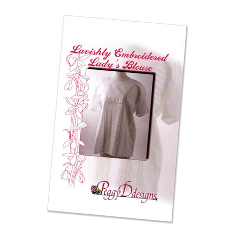 Lavishly Embroidered Lady's Blouse by Peggy Dilbone