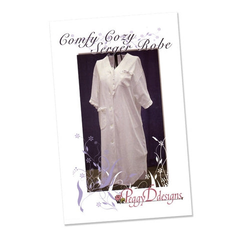 Comfy, Cozy Serger Robe by Peggy Dilbone