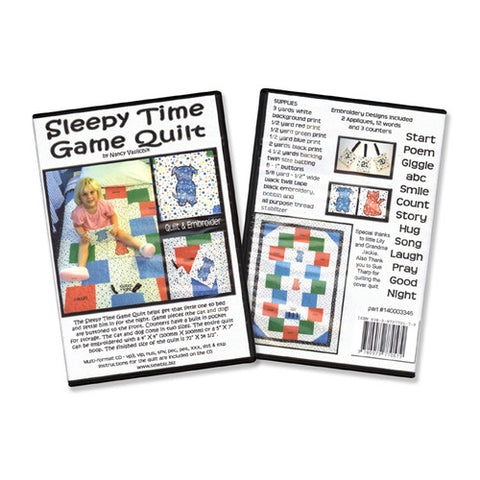 Sleepy Time Game Quilt by Sew Biz