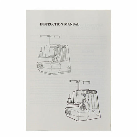 Instruction Book White Serger 7340