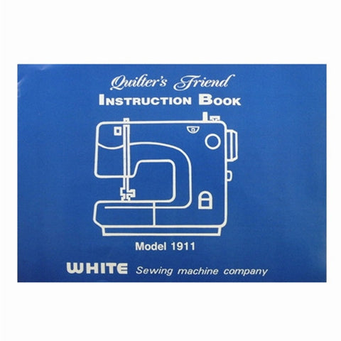 Instruction Book White 1911
