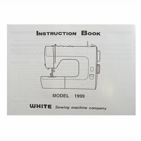 Instruction Book White 1999