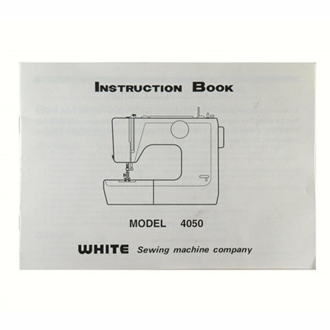 Instruction Book White 4050