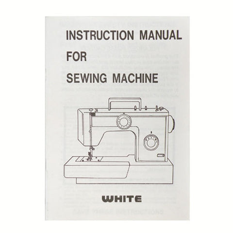 Instruction Book White 1766