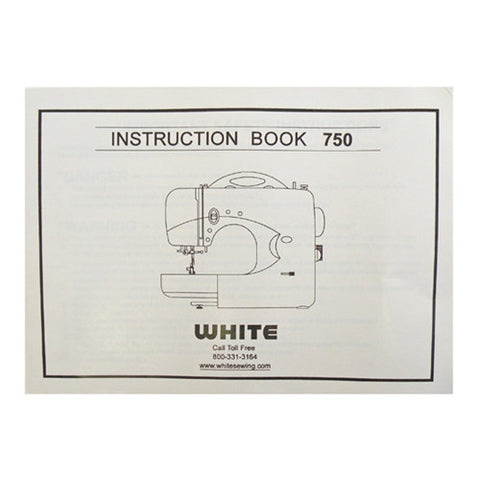 Instruction Book White 750