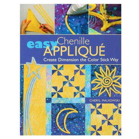 Easy Chenille Applique by Cheryl Malkowski