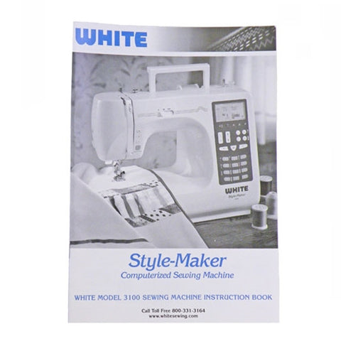 Instruction Book White 3100