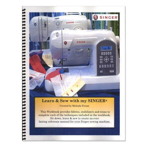 Simply More Techniques Learn to Sew w/Singer Workbook