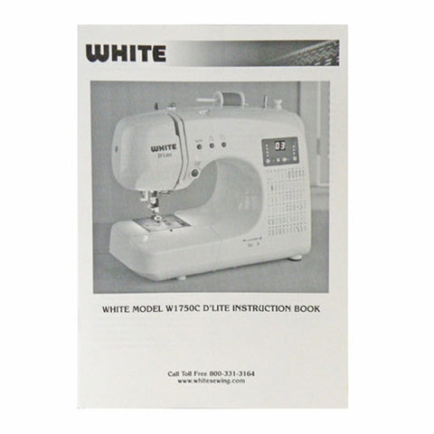 Instruction Book White W1750C