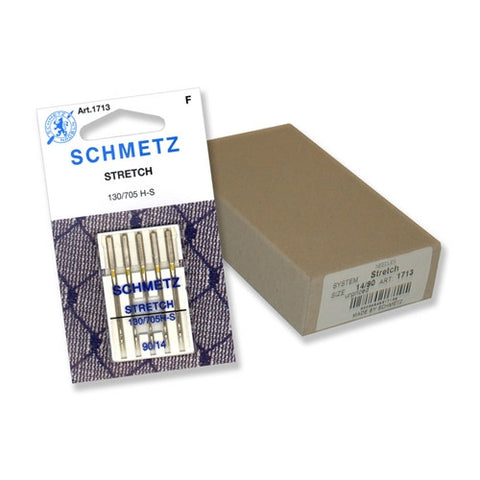 90/14 Schmetz Stretch Needle in a Carded 5 Pack