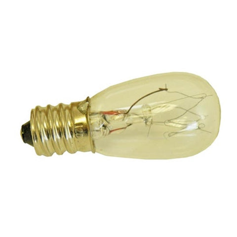 15 Watt Light Bulb in 7/16 inch Screw in Tapered Glas