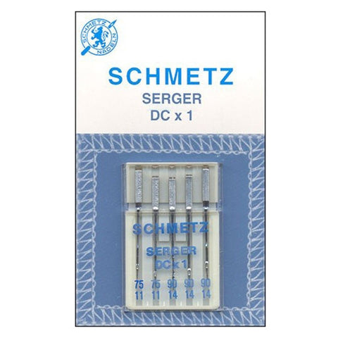 Schmetz Overlock DCX1 Needle Assorted 5 pack