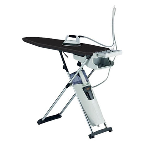 laurastar extreme ironing board cover in black that is fire resistant