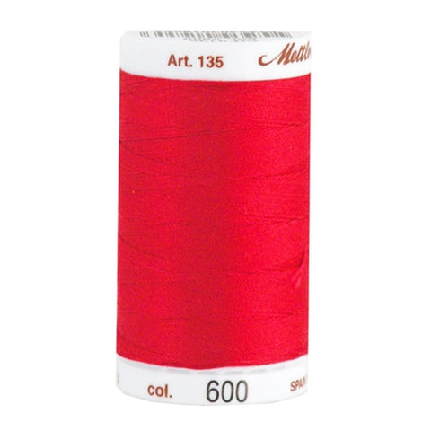 Mettler 40wt Cotton Quilting in Cherry in 500 Yard Spl