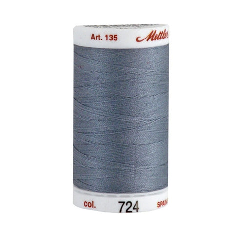 Mettler 40wt Cotton Quilting in Cement Gray in 500 Yar