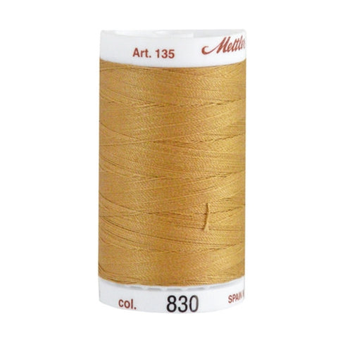 Mettler 40wt Cotton Quilting in Beige in 500 Yard Spl