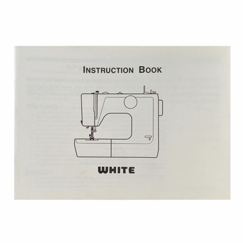 Instruction Book White 4040, 4042