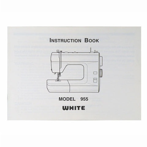 Instruction Book White 955