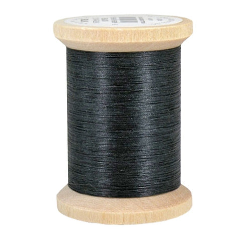 YLI 100% Cotton Quilting in Black, 400yd Spool
