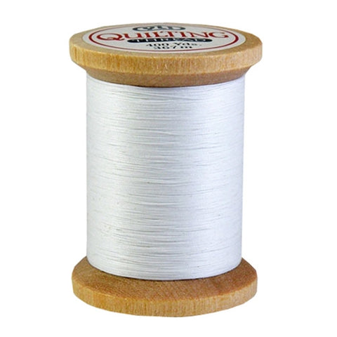 YLI 100% Cotton Quilting in White, 400yd Spool