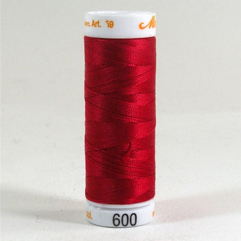Mettler 30wt Embroidery Cotton in Cherry, 219yd