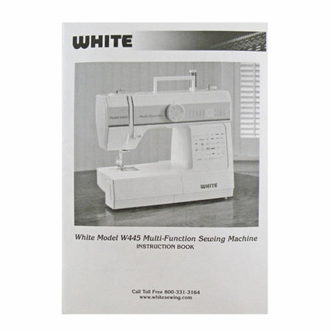 Instruction Book for White W445