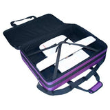 Purple 25x19x5.5In. Tutto Large Embroidery Bag
