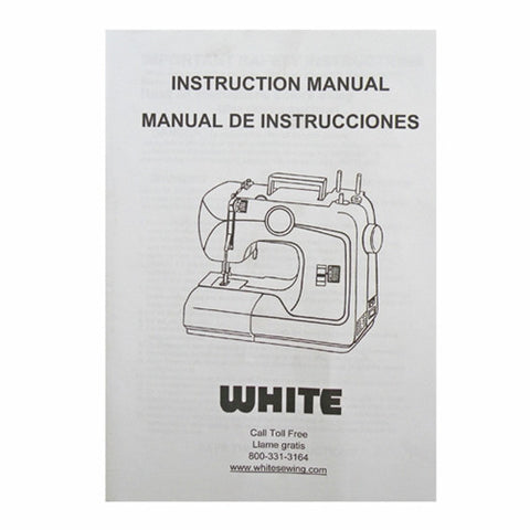 Instruction Book for White 1735