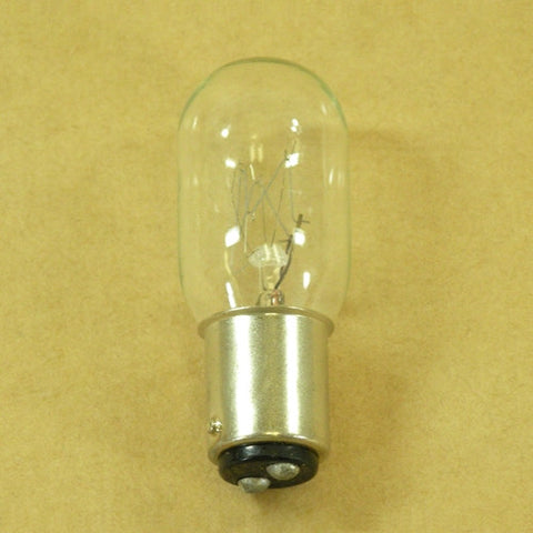 Bulb 25 watt Snap-in for Viking 6000s, Turissa, Pfaff