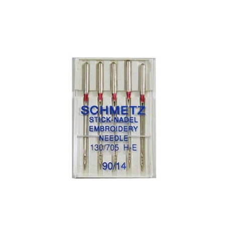 90/14 Schmetz Embroidery Needle 5 pack