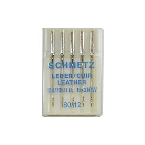 80/12 Schmetz Leather Needle in a 5 Pack
